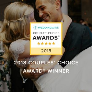 WeddingWire Couples' Choice Awards® Winner!
