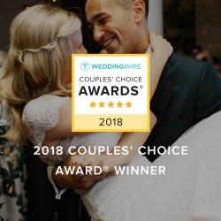 WeddingWire Couples' Choice Awards® Winner!